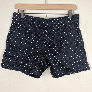 Tommy Hilfiger Polka Dot Navy Shorts Size 4